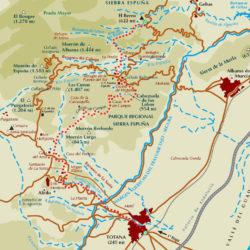 Mapa Guadalentin